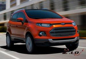 Новый компакт-кроссовер Ford Ecо Spоrt/2012 будет Доступен в 100 странах. З ...