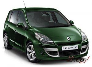 Коллекция автомобилей Рено 2012