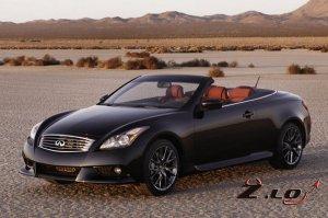 Infiniti представил ценник на авто модель IPL G Convertiblе/кабриолет прямо ...