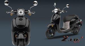 Скутеры Honda 2013 года
