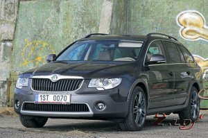 Skoda Superb Scout 2013 года