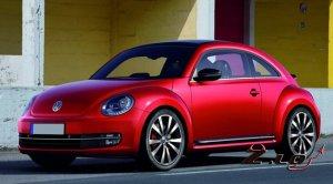 Третье поколение легендарного Volkswagen Beetle.