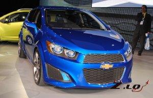"""""""Злой"""" хетчбек, или Chevrolet Aveo RS выходит на европейский автомобильный рынок"""