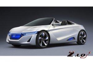 Новый электромобиль EV-STER от компании Honda 2013 года