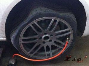 Безопасные шины, наполненные азотом