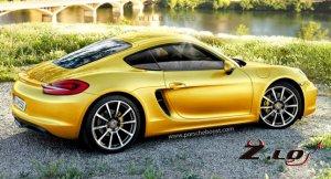 Осенний Лос-Анджелес увидит новый Porsche Cayman/2013