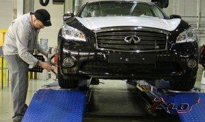 Nissan начал сборку люксовых моделей Infiniti в России.