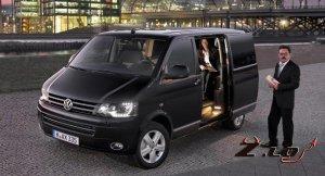 Компания Volkswagen выпустила первый Caravelle Business.