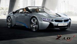 БМВ привезет на автосалон Москва/2012 - i8 Concept Spyder