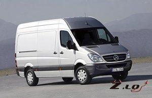 Mercedes Sprinter приехал в Россию