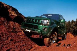 Компания Suzuki обновила внедорожник Jimny