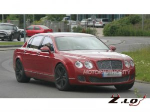 Первые снимки Bentley Continental Flying Spur попали в интернет