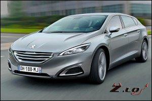 Новый Peugeot 608 2013 года