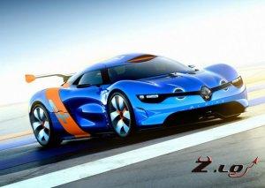 Renault построил на базе Megane суперкар
