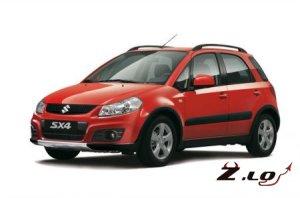 Модернизированная модель Suzuki SX4/2012
