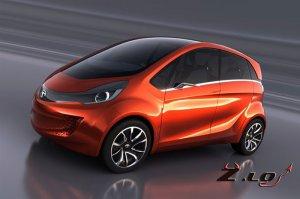 Новый индийский автомобиль Tata Megapixel