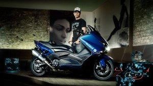 Новый скутер от компании Yamaha