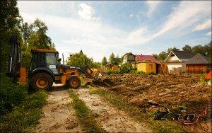 Готовим участок к строительству дома и гаража