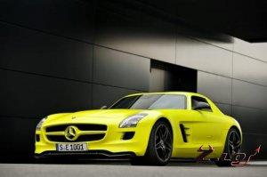 Daimler разработает электрическую версию родстера Mercedes-Benz SLS AMG