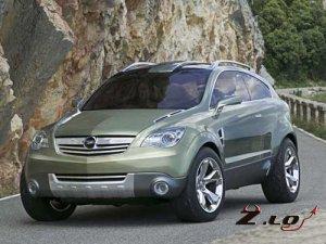 Обновленный внедорожник Opel Antara