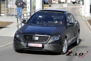 Фотошпионы выцепили новый Mercedes-Benz S-класса