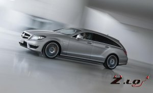 Mercedes CLS Shooting Brake 2012 года