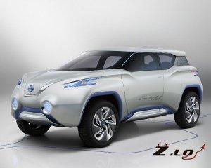 Nissan показал концепт-версию электрического кроссовера
