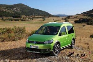 Volkswagen сообщил о внедорожной модификации Caddy