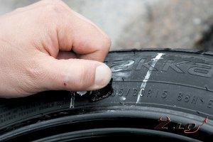 Виды повреждений шин и их ремонт