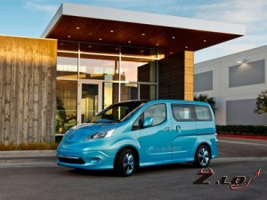 Nissan показал NV200 похожий на LEAF