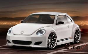 Volkswagen показал два пакета доработок для Beetle в конфигурации Sport