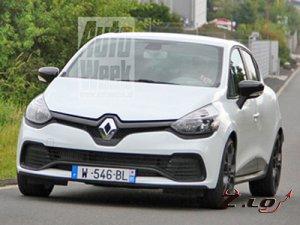 Фотошпионы поймали новый Renault Clio RS