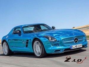 Самой резвой моделью ателье AMG стал электрокар Mercedes-Benz