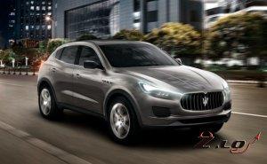 Maserati готовит на будущее выпуск нового кроссовера Levante и седана Ghibl ...
