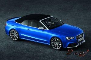 В Париже Audi представила кабриолет RS5
