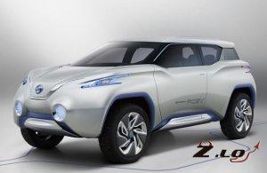 Новый внедорожник Nissan TeRRA