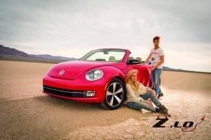 Кабриолет VW Beetle 2013