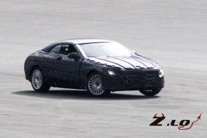 Кабриолет Mercedes S-класс замечен на тестах
