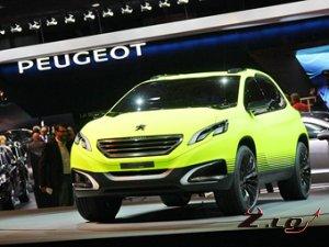 Peugeot порадует поклонников компактным кроссовером 2008