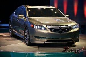 Acura привезет в Детройт серийный вариант нового флагмана