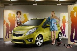 Chevrolet показала в Париже обновленные Spark, Orlando и Malibu