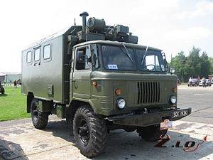 Советский автомобиль ГАЗ-66