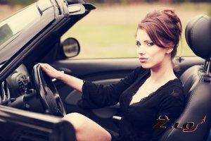 Флирт на дороге
