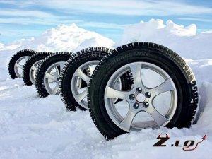 Зимние шины для автомобилей.
