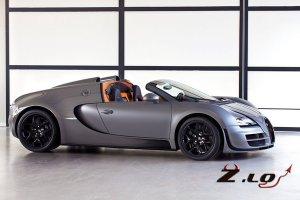 Bugatti разрабатывает 1600-сильную машину