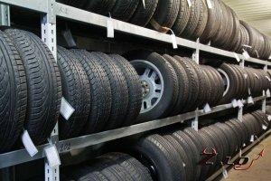 Хранение автомобильных колёс