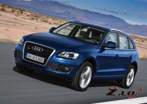 Audi SQ5. Спортивный кроссовер с бензиновым мотором.