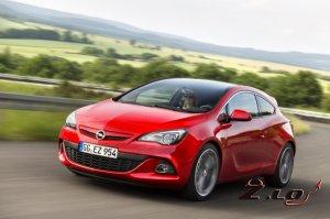 рестайлинг Opel Astra
