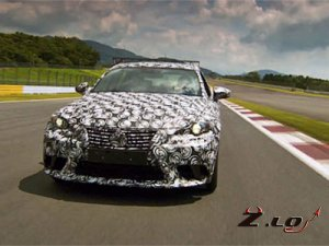 Новый Lexus IS с мотором V6 будет мощнее на 100 л.с.