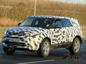 Компания Land Rover создаст «семейный» Evoque